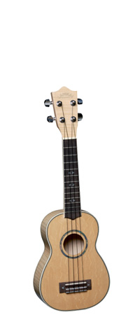 Flamed Maple Sopran Ukulele