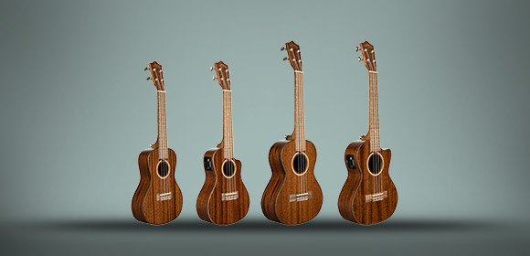 Lanikai All Solid Mahogany Serie