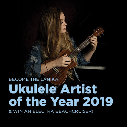 Link zur Aktionsseite Ukulele Artist of the Year 2019